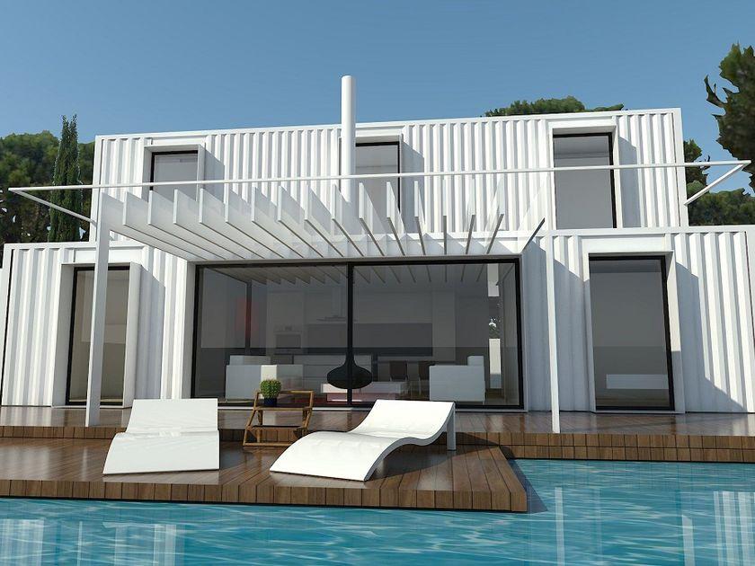 La casa de tus sueños construida con contenedores marítimos