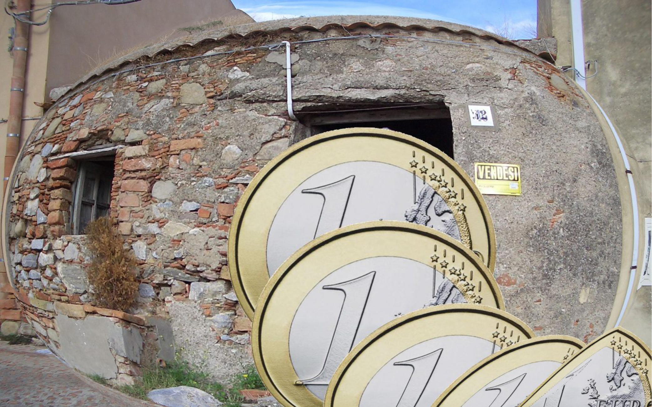 ¿Are in Italy selling houses for 1 euro?